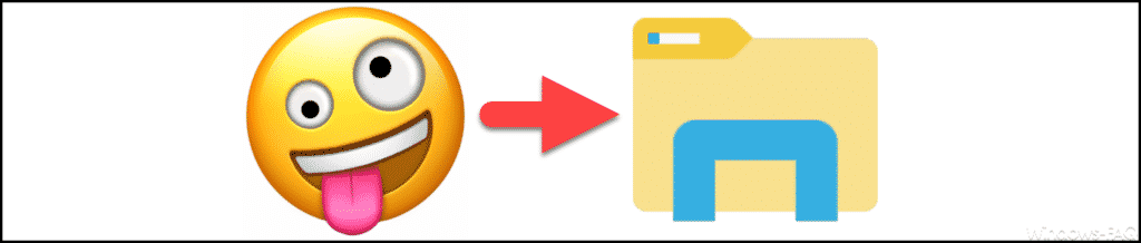 Emojis im Windows Explorer