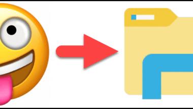 Emoji Zeichen in Dateinamen oder Ordnernamen einfügen