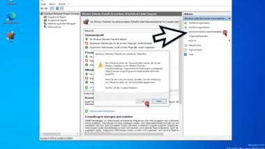 Windows Firewall Einstellungen auf die Standardeinstellungen zurückstellen
