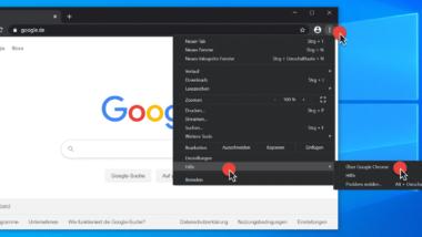 Google Chrome Update auf die neueste Version