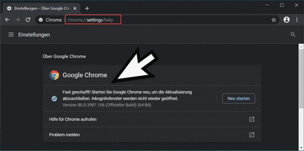 Chrome Ohne Installation