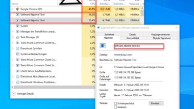 Software_Reporter_Tool.exe verursacht hohe CPU-Auslastung