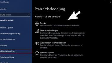 Windows 10 Problembehandlung – Windows 10 Probleme automatisch beseitigen lassen