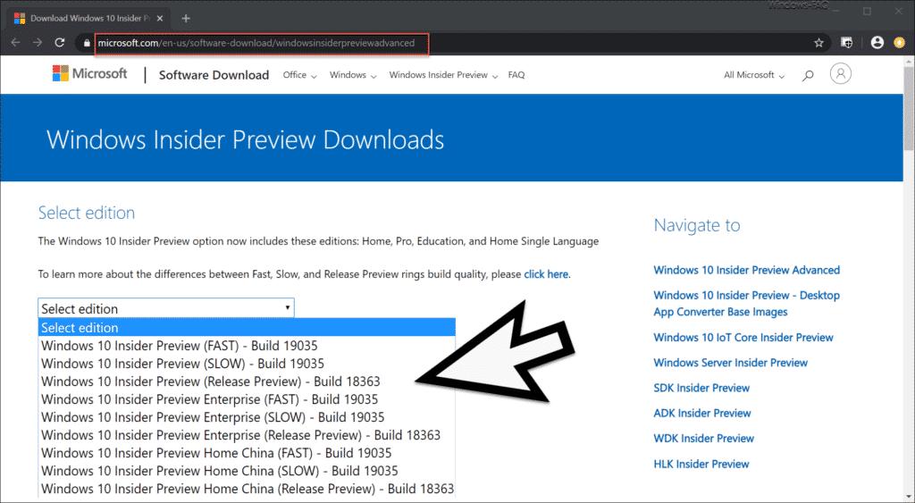 Windows 10 Version 2004 Insider Preview Download