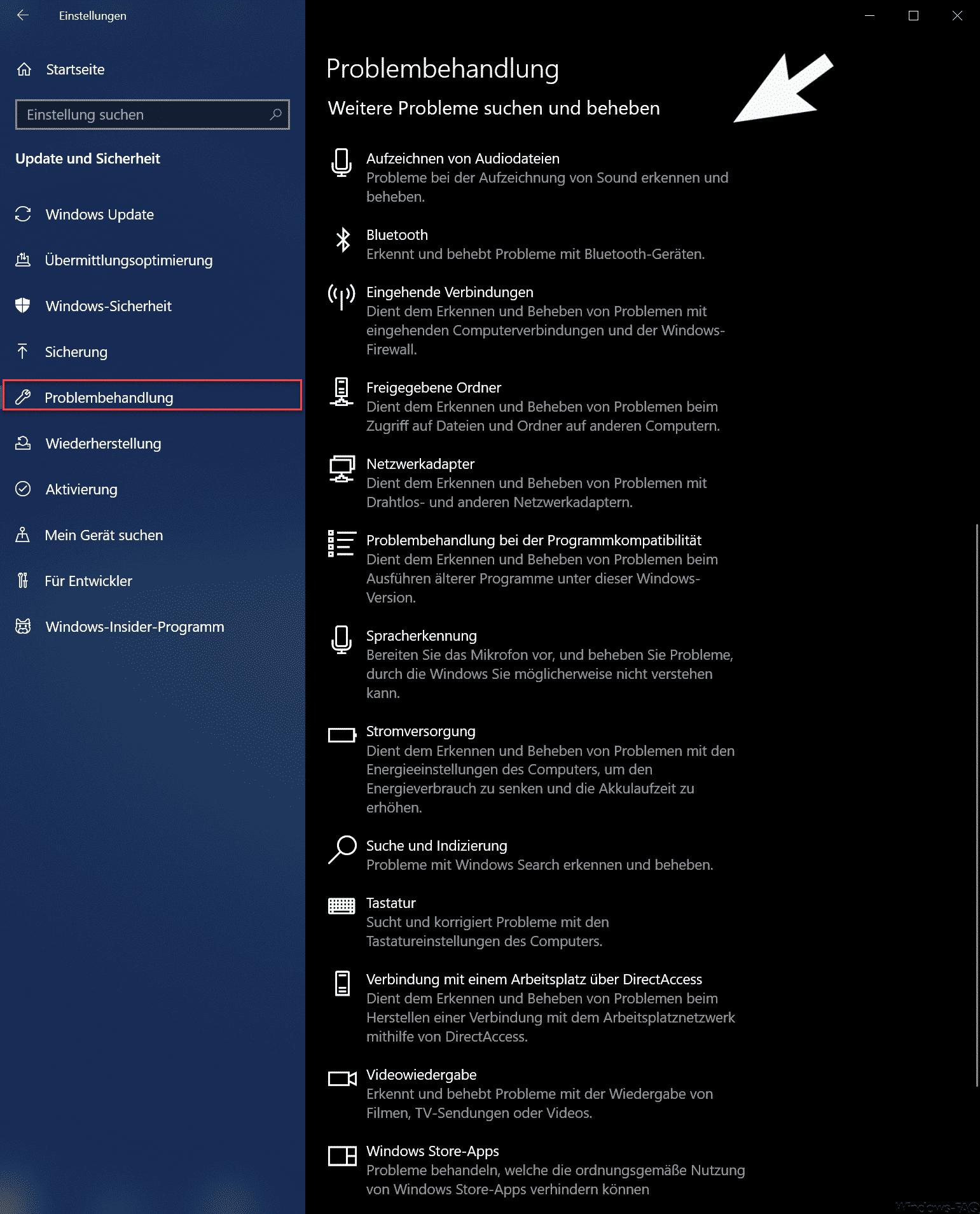 Windows 10 Probleme Beim Zurücksetzen
