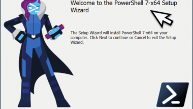 Download und Installation PowerShell 7