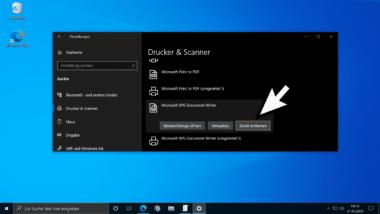 Entfernen von Druckern verhindern unter Windows per GPO