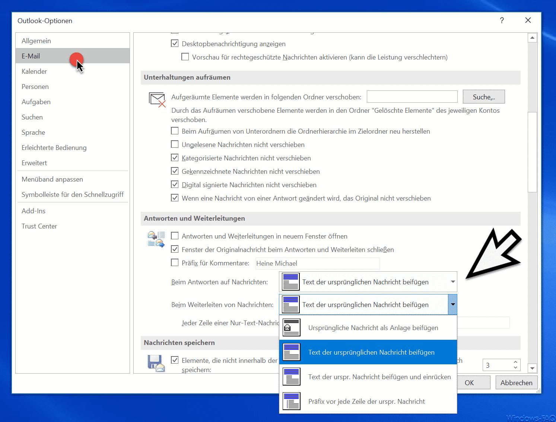 Outlook ihre einstellungen für automatische antworten können nicht angezeigt