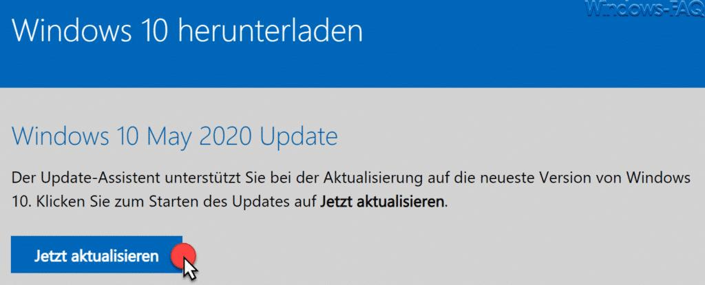 Download Windows 10 Mai 2020 Update 2004 ISO