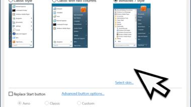 Windows 10 Startmenü Design ändern – Klassisches Startmenü von Windows 7 verwenden