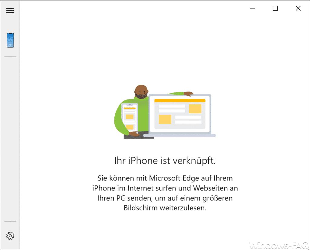 Ihr iPhone ist verknüpft