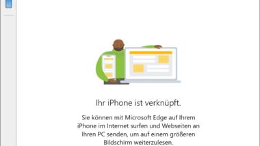 iPhone oder Android Smartphone mit Windows 10 verbinden