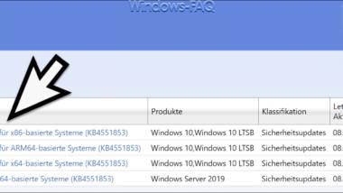 Update KB4551853 für Windows 10 Version 1809 (Build 17763.1217)