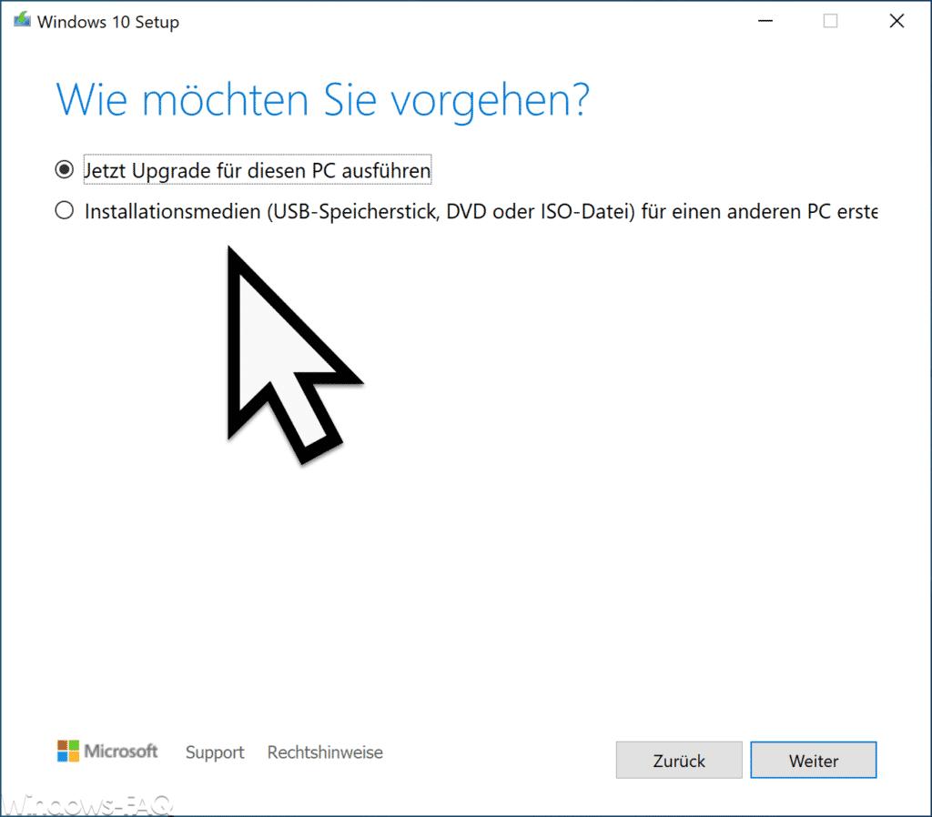 Windows 10 2004 Upgrade