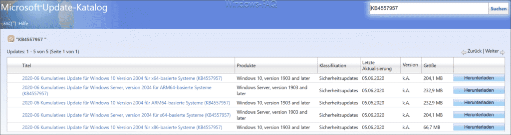 Download KB4557957