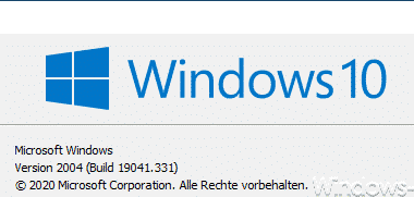 KB4567523 Update beseitigt Druckerprobleme bei Windows 10 Version 2004 (19041.331)