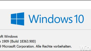 KB4560960 Update Download für Windows 10 Version 1909 Update (18362.900 und 18363.900)