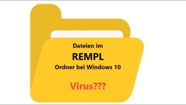 Was ist der Rempl Ordner und die Dateien Sedlauncher.exe, Sedsvc.exe oder Disktoast.exe
