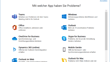 Download SaRA – Microsoft Support und Recovery Assistant