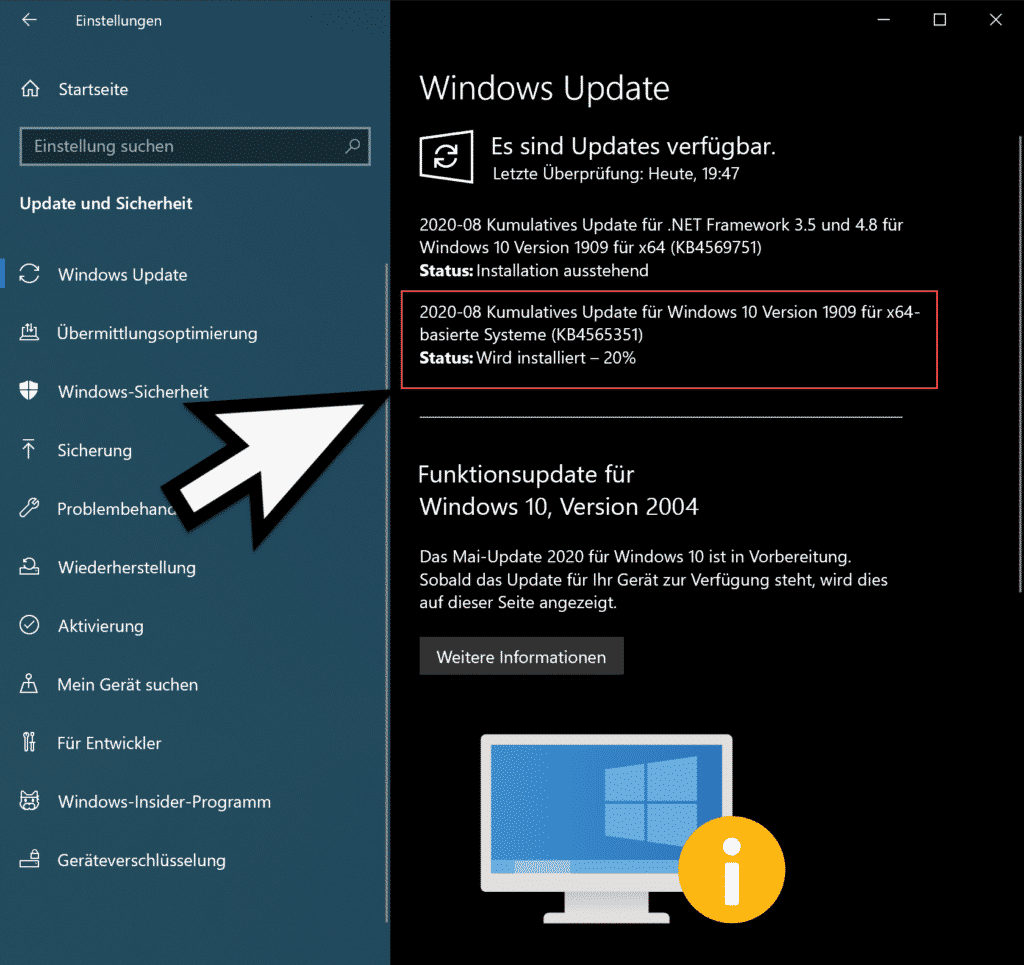 Download Update KB4565351