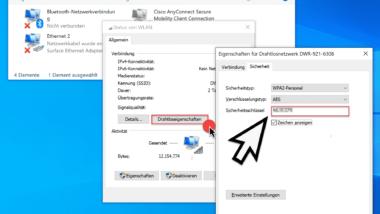 WLAN Passwort bzw. Sicherheitschlüssel einfach auslesen