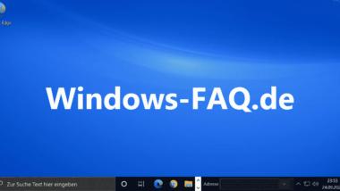 Wallpaper bzw. Desktop Hintergrundbild per Registry setzen