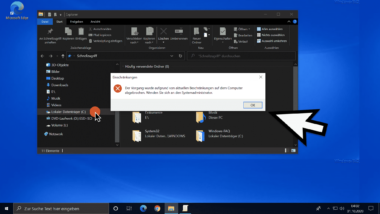 Verhindern, dass Windows Anwender im Explorer auf die lokalen Laufwerke zugreifen können