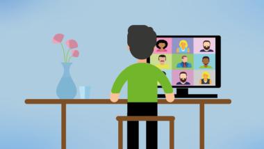 Videokonferenzen und Homeoffice als Teil der neuen Arbeitswelt