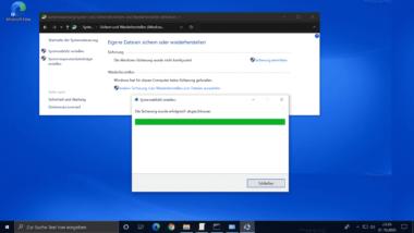 Windows Systemabbild erstellen (Systemimage)