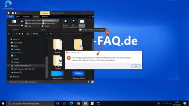 Zugriff auf die Ordneroptionen im Windows Explorer verhindern