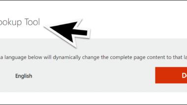 Windows Fehlercodes und 8-stellige Hex-Codes auflösen mit dem Microsoft Error Lookup Tool