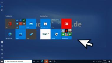 Windows 10 Startmenü auf Vollbildmodus umstellen