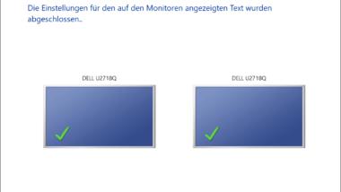 ClearType – Lesbarkeit der Bildschirmanzeige verbessern
