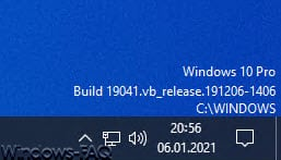 Windows Version, Name, Build auf dem Desktop aller User anzeigen lassen