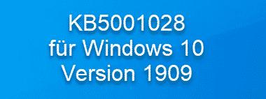 KB5001028 wegen WLAN Problemen veröffentlicht – Build 18363.1379
