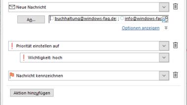 Mit QuickSteps die Arbeit im Outlook vereinfachen