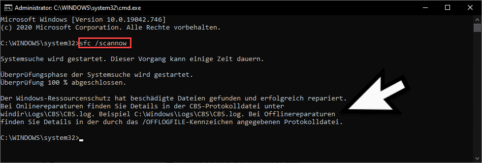 sfc scannow PAGE_FAULT_IN_NONPAGED_AREA