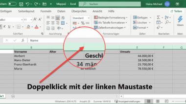 Spaltenbreiten automatisch anpassen lassen im Excel