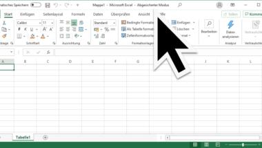 Übersicht Excel Parameter