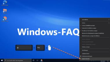 Windows Explorer Task bzw. Prozess ganz einfach beenden
