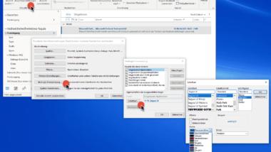 Farbe der ungelesenen E-Mails ändern im Outlook