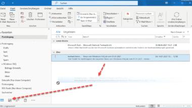 E-Mail in Termin umwandeln im Outlook