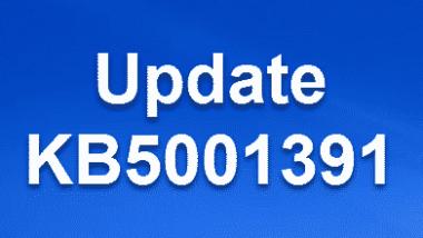 Download KB5001391 für Windows 10 2004/20H2 Build 19041.964 & 19042.964