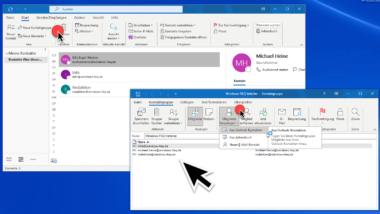 Outlook E-Mail Verteilergruppe anlegen