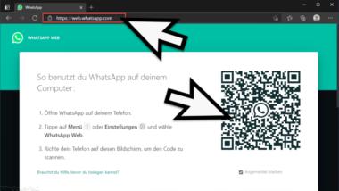 WhatsApp Nachrichten über einen Windows 10 PC schreiben