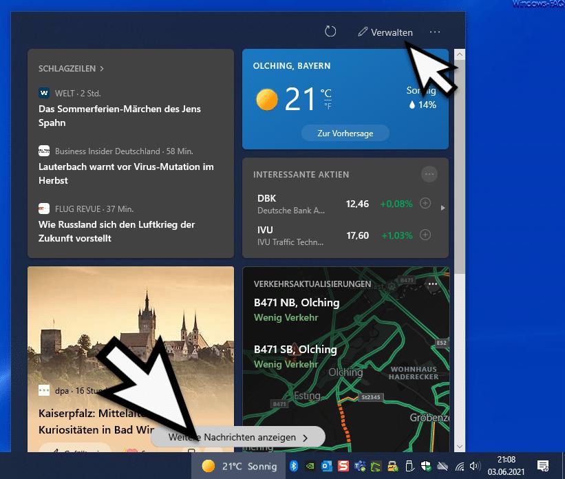 Neuigkeiten und interessante Themen Windows 10