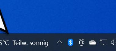 Wetter Anzeige deaktivieren in der Windows 10 Taskleiste