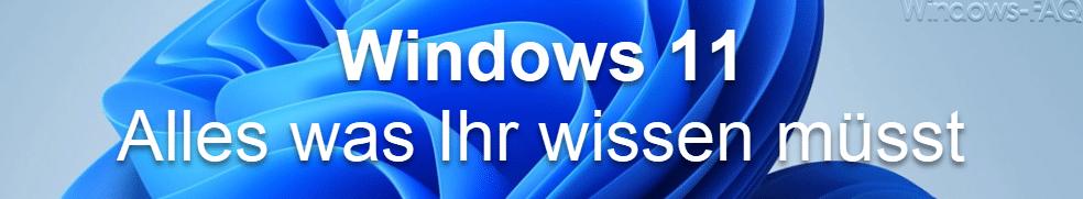 Windows 11 - Alles was Ihr wissen müsst