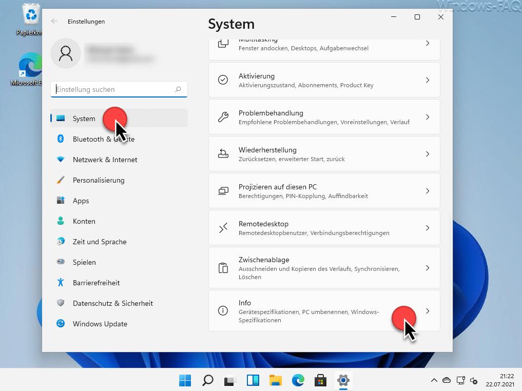 Windows 11 System Info
