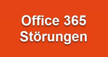 Störungen bei Office 365